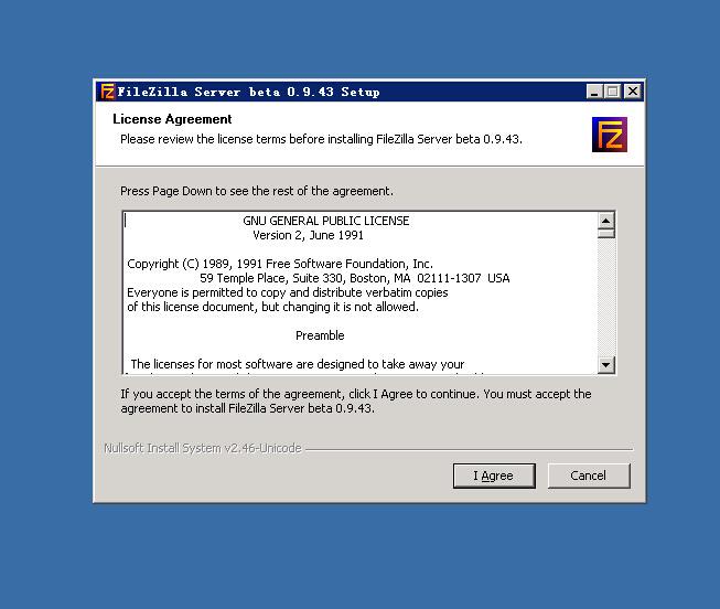 利用FileZilla_Server快速搭建属于你的FTP服务器