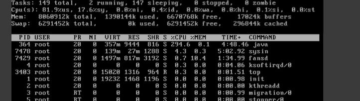 服务器CPU异常告警 挖矿处理  /tmp/java -B -o statum